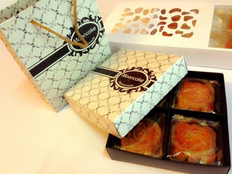 Những mẫu hộp đựng bánh trung thu handmade