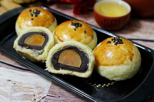 Bánh nướng mini trung thu Đài Loan