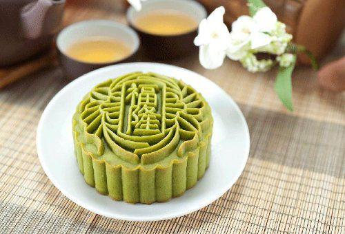 Bánh Trung thu trà xanh cho người ăn kiêng