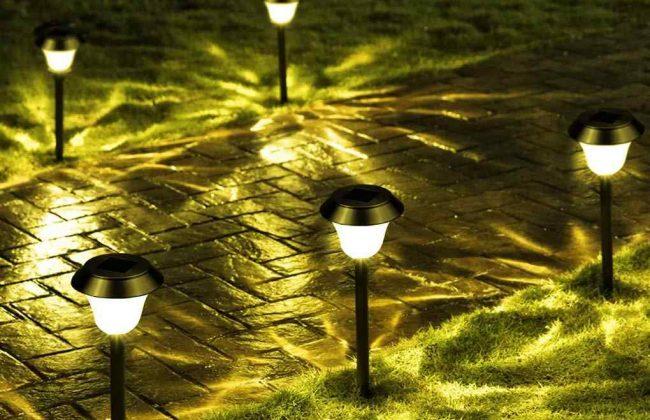 Đèn trang trí vườn mặt trời