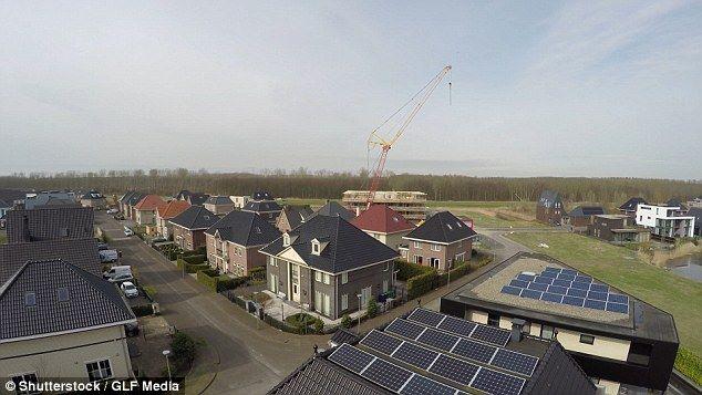 Mái nhà pin năng lượng điện từ mặt trời