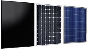Các loại tấm pin năng lượng mặt trời