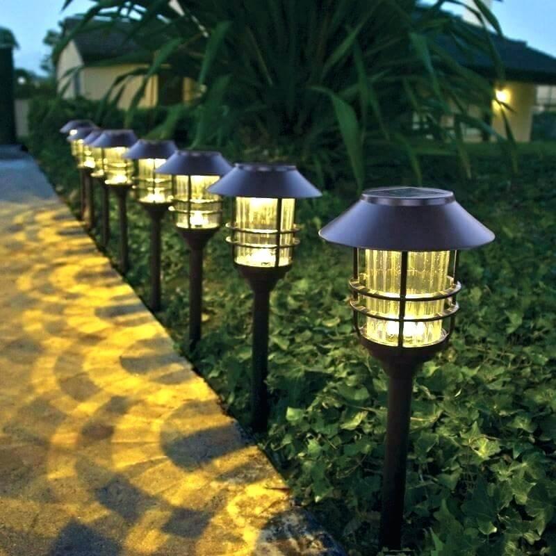 đèn led sân vườn năng lượng mặt trời