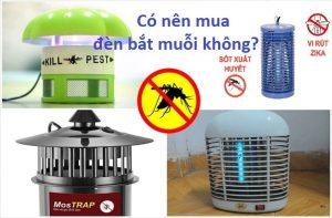 [Đánh giá] Có nên mua đèn bắt muỗi không?