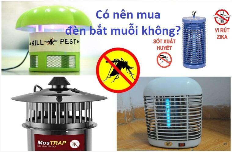 Có nên mua đèn bắt muỗi không?
