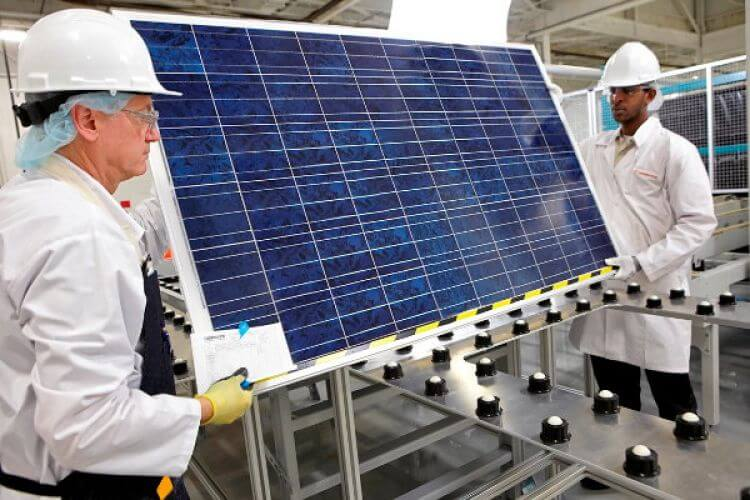 The reversible design increases 22,3% of solar cell performance