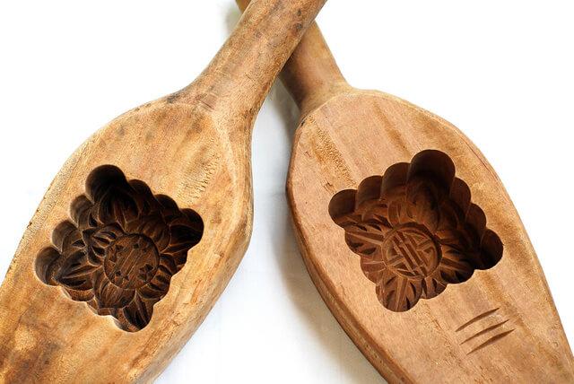 khuôn gỗ làm bánh trung thu