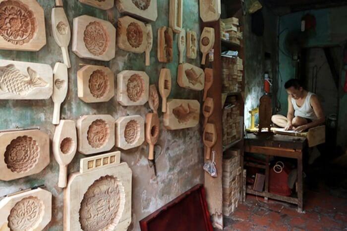 mua khuôn làm bánh trung thu bằng gỗ ở đâu