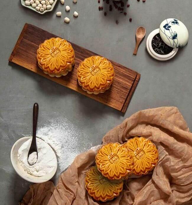 cách làm bánh trung thu đơn giản tại nhà