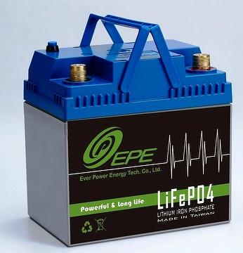 pin LiFePO4 không độc hại