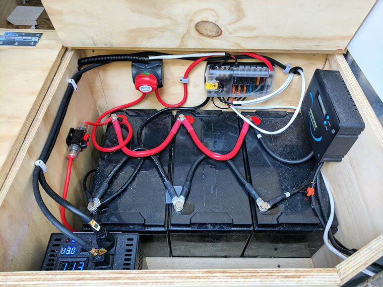các loại pin dự phòng điện mặt trời