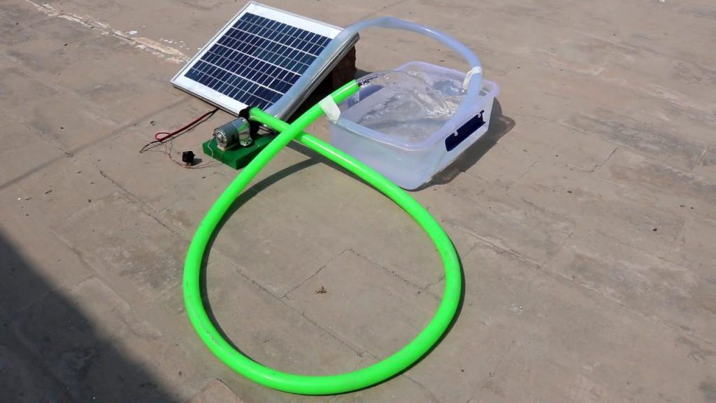 máy bơm nước mặt trời mini